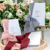 1pcs Free shipping paper wedding decoration marriage day photo props Mr Mrs his her Vows Card