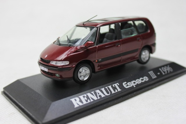 uh 1 43 renault espace iii 1996 van 007 film version alloy model car toy gift collection in. Black Bedroom Furniture Sets. Home Design Ideas