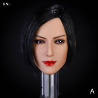 1/6 Asian Beauty Head Sculpt for 12inch Phicen Action Figure Part Accessories DIY Style Sexy Eyes Charms