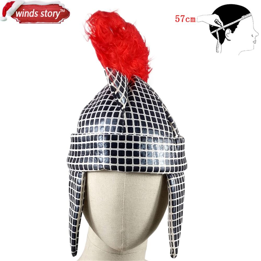 NEW American astronauta Adulto cap Soldato Romano Guerriero Gladiatore  Costume Cappello Casco Una varietà di festa di carnevale cappelli in NEW  American ... 02d0baf176a2