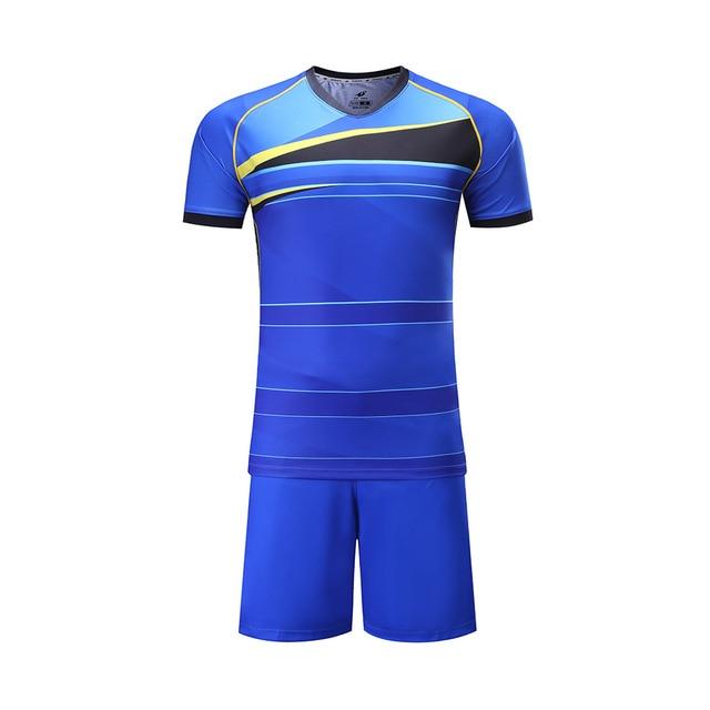 Latest design soccer jersey for kids OEM soccer uniforms customized for  children football wear DIY supplier