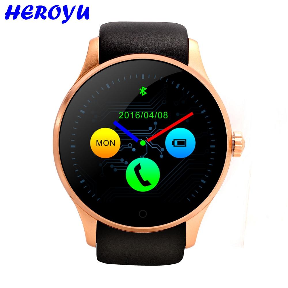 Smart Watch K88h Bluetooth 4 0 font b Smartwatch b font SIM Heart Rate Monitor Montre