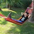 High Quality Portable Hammock Outdoor Garden Hammock Water Resistant Trapeze Hammock Swing Canvas Anti-rollover Sleep Bed