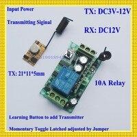 Encoding Transmitter Module PCB 12V DC Receiver RF 3V 3 7V 4 5V 5V 6V 9V
