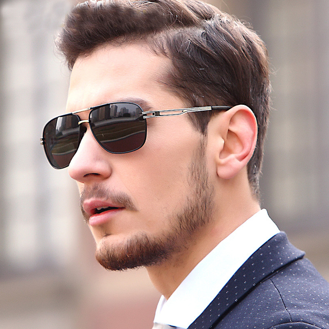 New 2018 fashion High quality Pilot polarizing sunglasses men lunette  soleil homme oculos de sol masculino men sung lasses 600a1f4581c0