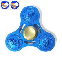 A TOY A DREAM Fidget Toys Heavy EDC Finger Spinner Game Of Thrones Spinner Hand Fidgets