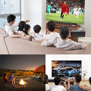 Image 5 - 최신 HQ3 WiFi 프로젝터 비디오 프로젝터 Everycom HQ2 3000 Lumi HD 1280*720P LED 홈 시어터 영화 비머 Proyector Portatil