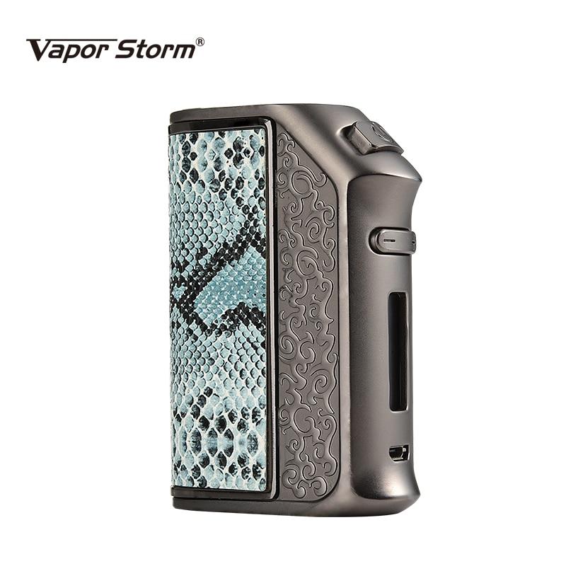 100% original Vapor Storm 200W TC box mod fit 18650 battery e cigarette atomizer tank RBA RDA RDTA huge vapor with 510 thread цена