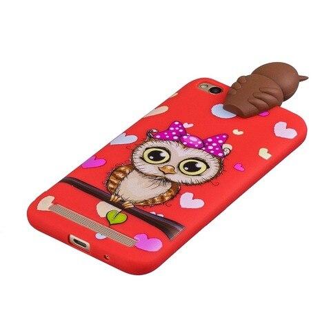 Soft TPU Phone Case for Coque Xiaomi Red Note 5 6 Red 6A 7 GO Note 7 6 Pro Cover panda unicorn owl Cartoon Doll Toys Etui Funda Islamabad