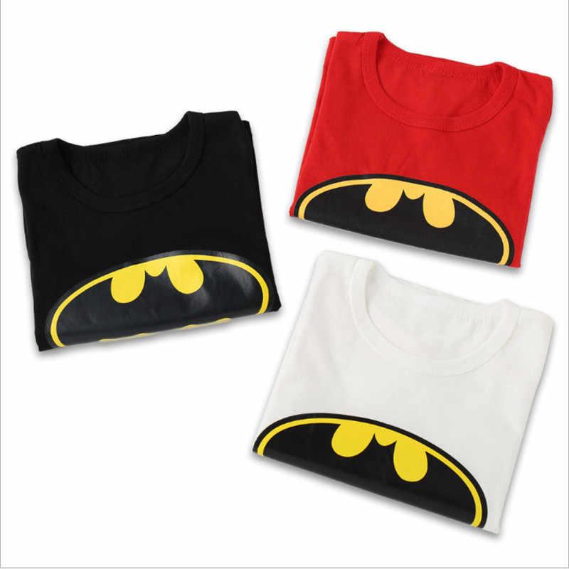 חדש חם superhero באטמן בנים הדפסת T חולצות תינוק T חולצה בת אדם בני Tees חולצות ילדי חולצות ילדים קיץ בגדים
