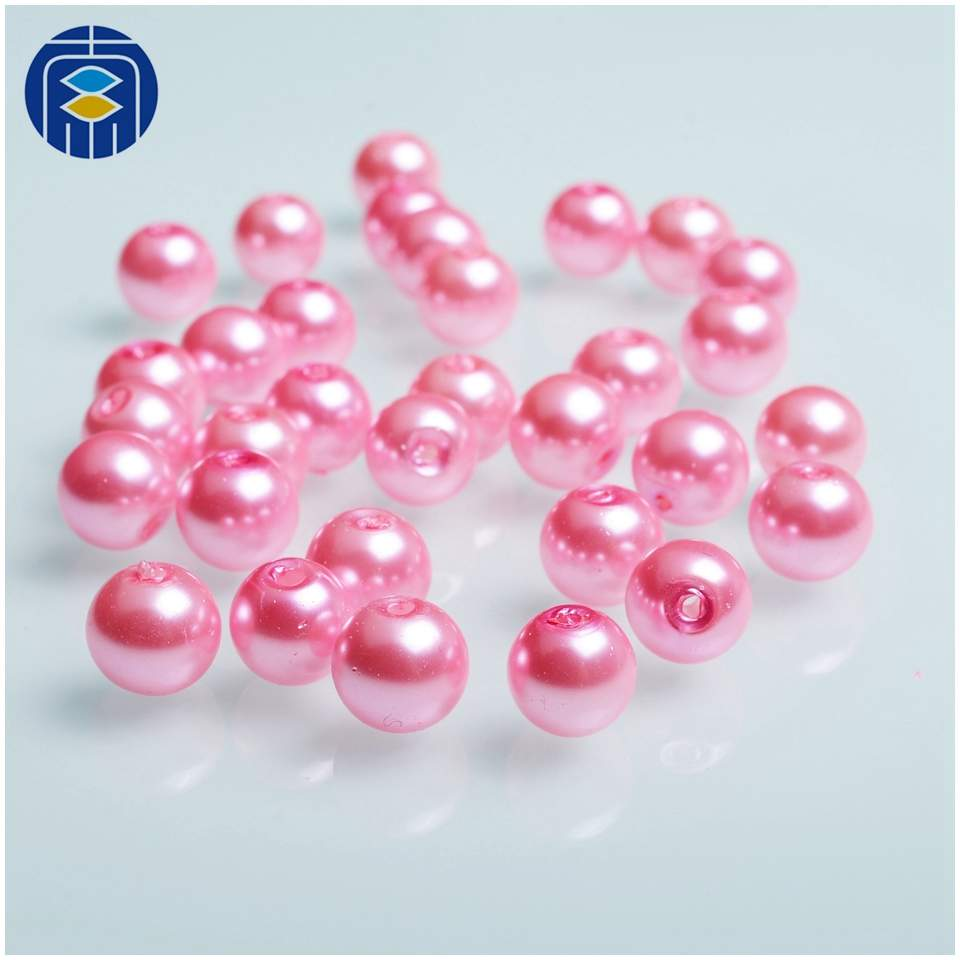 VARIOUS COLOURS AVAILABLE 100 GLASS PEARL 8mm CRAFT BEADS