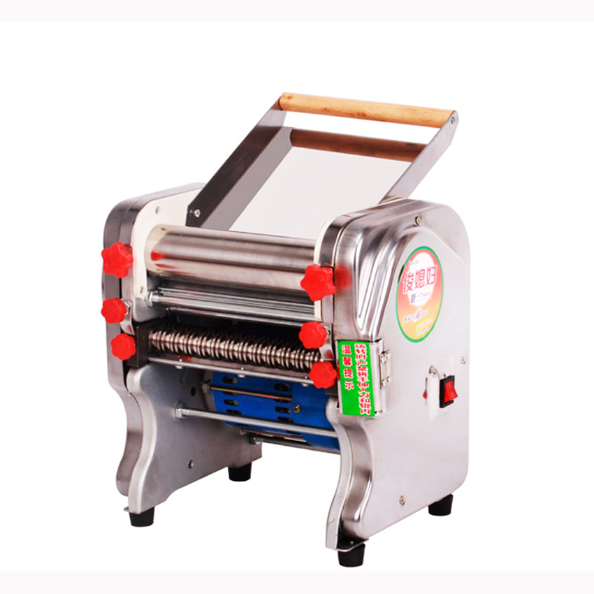 Stainless steel household electric pasta machine   pressing machine Ganmian mechanism commercial pasta machine 220V набор для кухни pasta grande 1126804