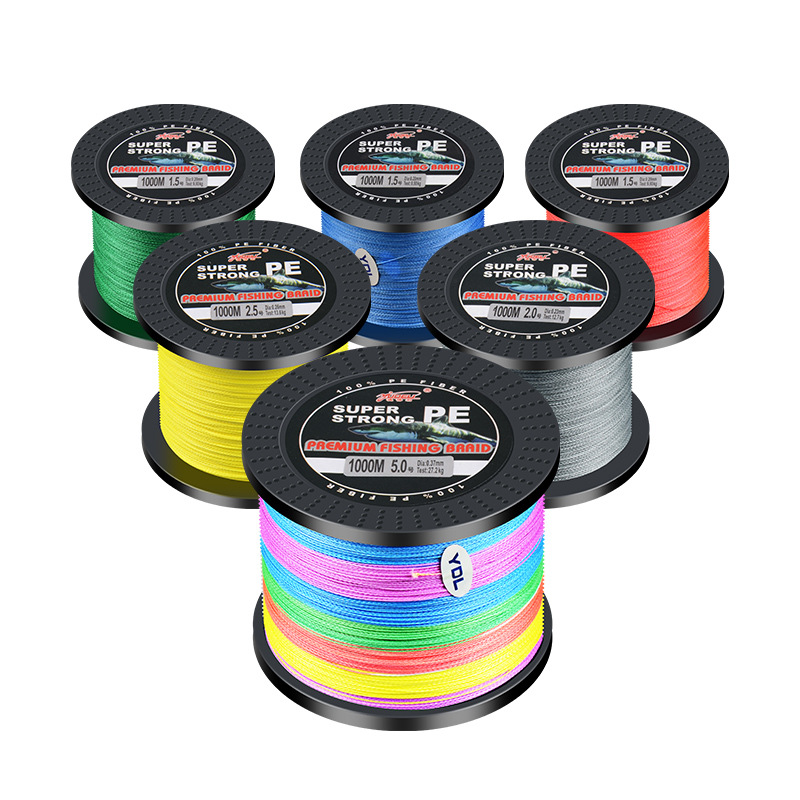 SeaKnight MONSTER W8 Fishing Line 1000M 500M 8 Strands Braided Fishing Line Multifilament PE Line 15 20 30 40 50 80 100LB