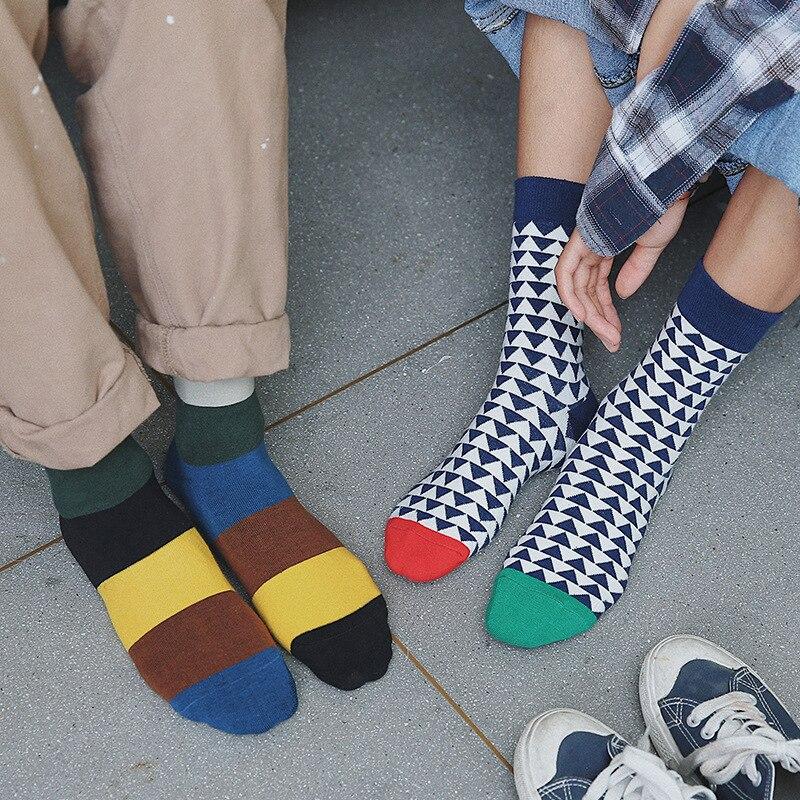 2017 men socks 3 pieces new autumn  men socks happy long mens fashion high quality novelty cotton Unisex socks men