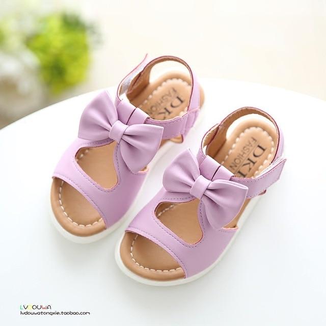 2016 новое поступление девочек сандалии мода летом ребенок обувь высокое качество милые девушки дизайн свободного покроя дети сандалии