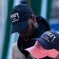 2017 mujeres de los hombres de nueva negro gorra de béisbol del snapback del sombrero de hip-hop bboy ajustable cap yeezy 7350