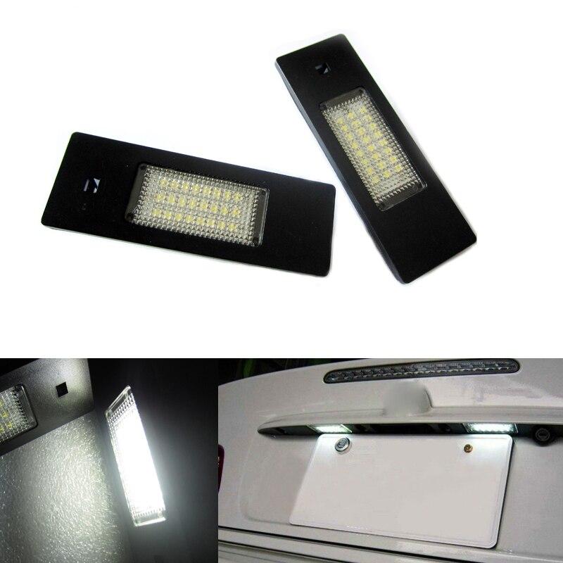 18SMD LED Number License Plate Light Kit Error Free for BMW E63 E64 650i M6 E85 E86 Z4 M E81 E87