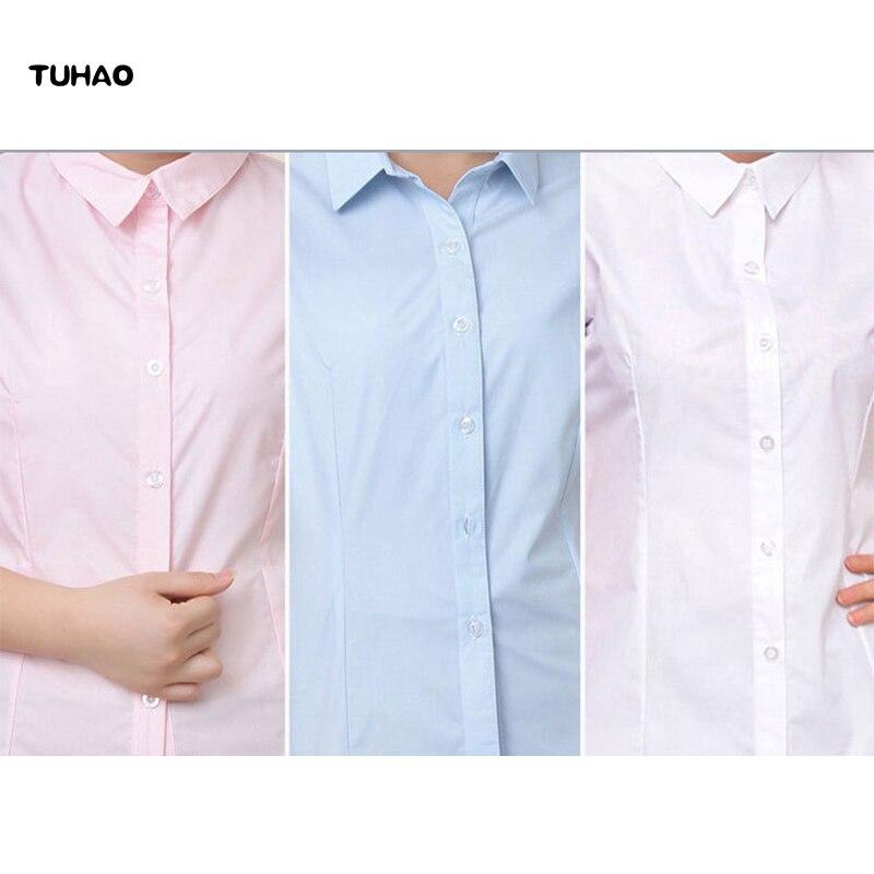 d762545632 2019 de las mujeres de gasa blusa camisa blanca mujer manga corta de  mariposa camisa Plus