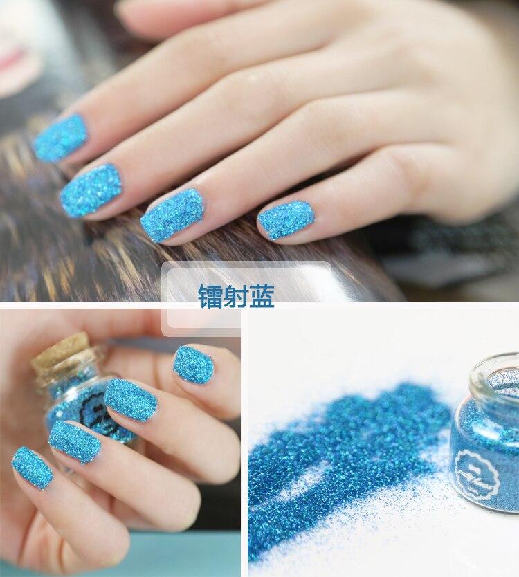 Nail Laser Poeder Hexagon Glitter Poeder Nail Art Decoratie Pvc