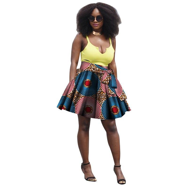 Summer Women Clothing African Print Skirts Ankara Fashions
