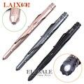 Chegada nova Multi-Função Tactical Pen Com Luz Led Cabeça De Aço De Tungstênio Para Self Defense Vidro Disjuntor de Emergência Sobrevivência Kit