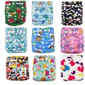 Super Dear! Baby Washable Diaper One Size Reusable Diaper for NB to 15KGS