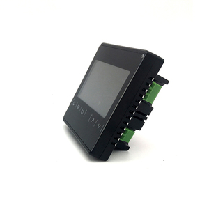 Image 2 - New Touch Screen LCD Display Warm Floor Temperature Controller 85~240V 16A Electric Floor Heating Room Thermostat