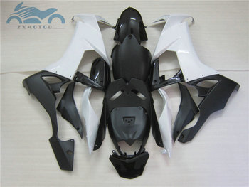 High grade Motorcycle ABS factory fairing sets for 2008 2009 2010 2011 ZX10R white black body Fairings ZX-10R 08 09 10 bodywork