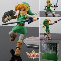 New Figma EX 032 Game Zelda Link The Legend of Zelda A Link Between Worlds 14cm Action Figure Series