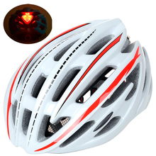 220g Ultralight LED Cycling Helmet Professional Road Bike Bicycle Helmets MTB 54-59cm Casco Ciclismo PC+EPS material 5 colors