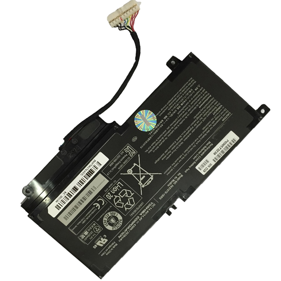 14.4V 43Wh Original New Laptop <font><b>Battery</b></font> PA5107U-1BRS for <font><b>Toshiba</b></font> <font><b>Satellite</b></font> S55 S55-A5294 <font><b>L50</b></font>-A L45D <font><b>L50</b></font> P55 L55t PA5107U <font><b>Battery</b></font> image