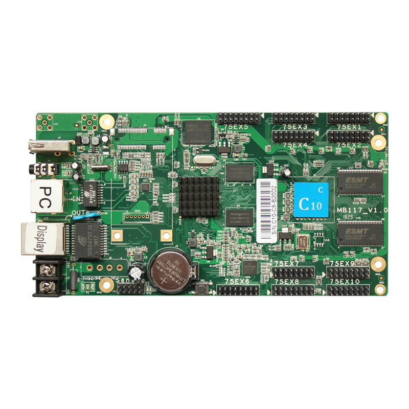 Huidu control software HD C10C Compatiable with HD R501S Receiving Card work for programmable led signs