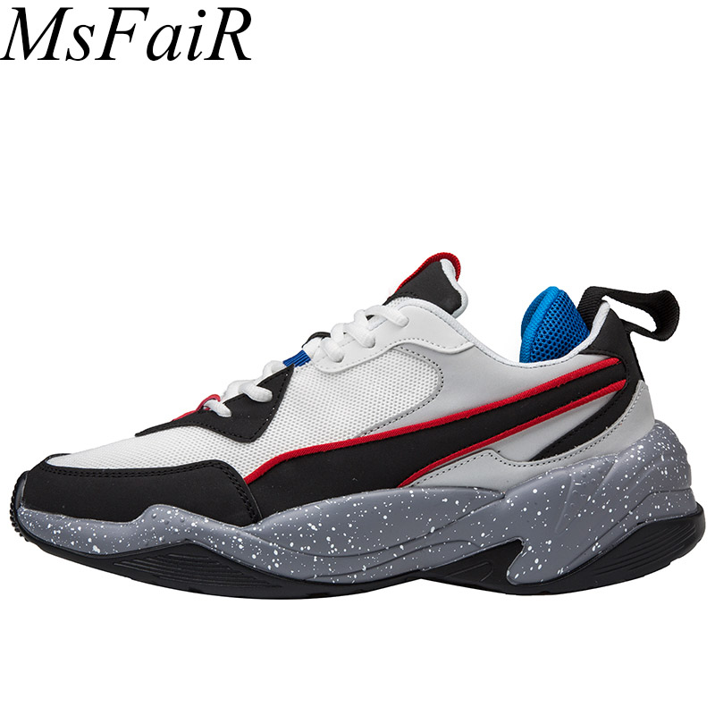 Msfsir 2018 The New Listing Running Shoes For Men Summer Breathable