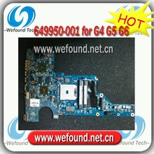 Hot! laptop motherboard mainboard 649950-001 For HP G4 G5 G6