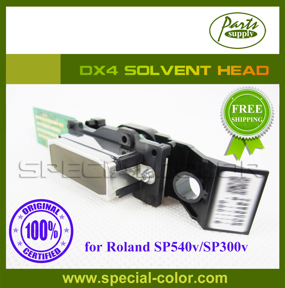 [Get 2pcs DX4 Printhead small damper free] Printer Solvent Head DX4 Roland Vp540/300 Printhead Origin from Japan new original dx4 solvent printhead for roland xj740 640 540 printer get 2pcs dx4 small damper as gift