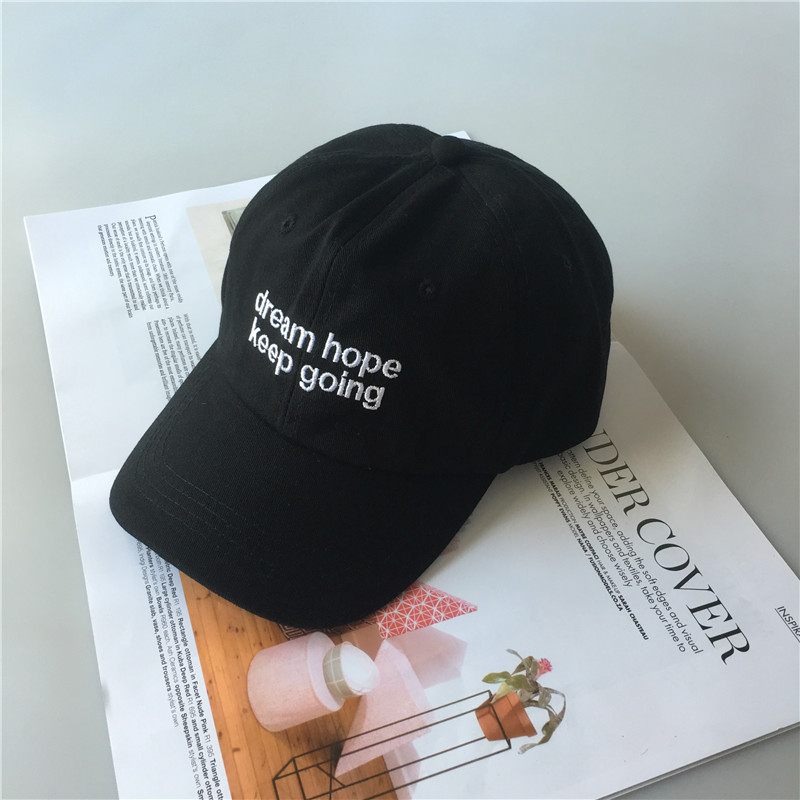 Hats Embroidery Tour-Dream YOURSELF LOVE Baseball-Cap Letter Adjustable Unisex HOPE 8