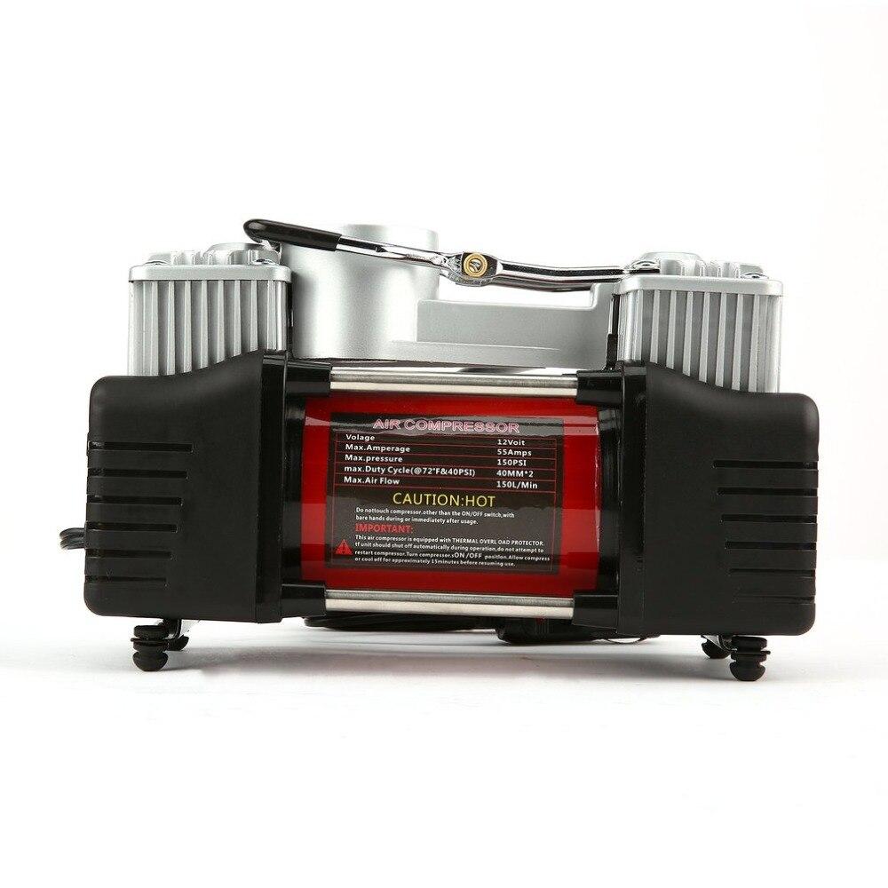 12V 150PSI Car Portable Emergency Mini Electric Air Compressor Tire Inflator Pump for Car Trucks стоимость