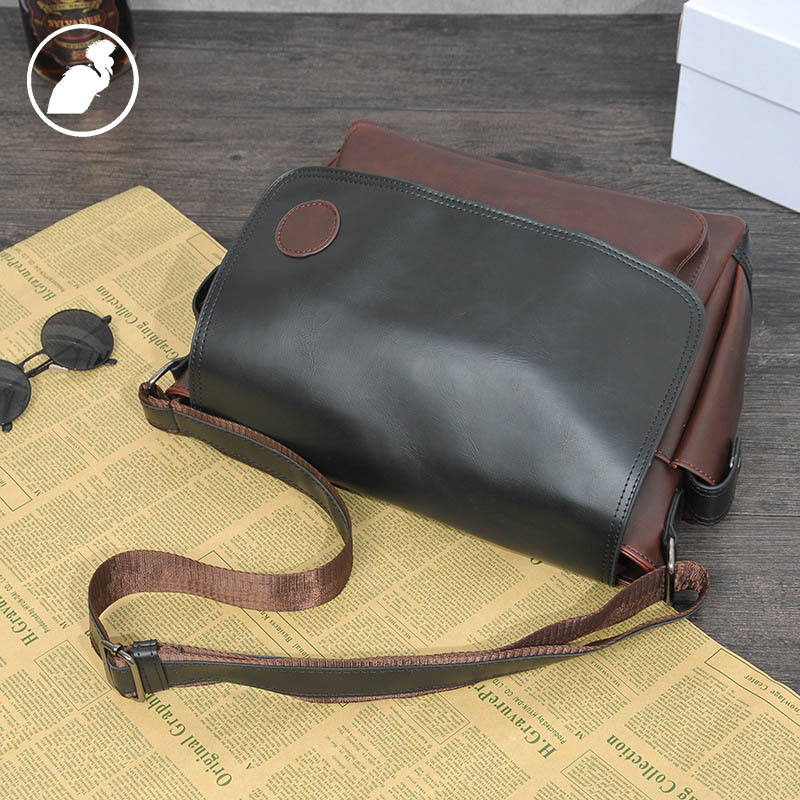 ETONWEAG Famous Brands PU Leather Crossbody Bags For Women Messenger Bags Black Preppy Style Shoulder Bag Casual Laptop Bag etonweag famous brands 12 pcs dozen messenger bag men leather brown cover shoulder bags preppy style designer crossbody bag