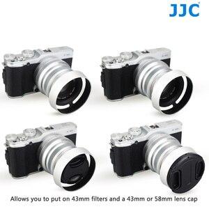 Image 5 - JJC En Métal Caméra Lentille Hotte Vis pour Fujifilm XF 35mm f/2 R WR Sur X T4 X T200 X A7 Xpro3 Xpro2 Remplace Fujifilm LH XF35 2
