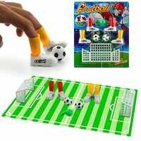 Mini Soccer Game Finger Toy Football Match Funny Table Game Set With Two Goals Interact Kids Parent Novelty Gag Toys