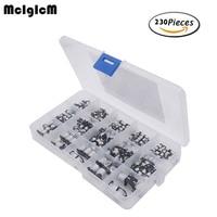 15value 300pcs SMD Aluminum Electrolytic Capacitors Assortment Box Kit