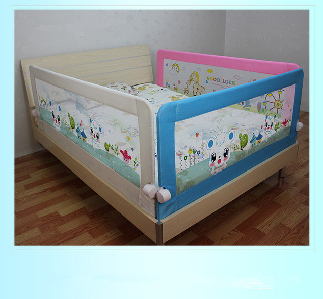 150 68cm Foldable Safety Toddler Bed Rail