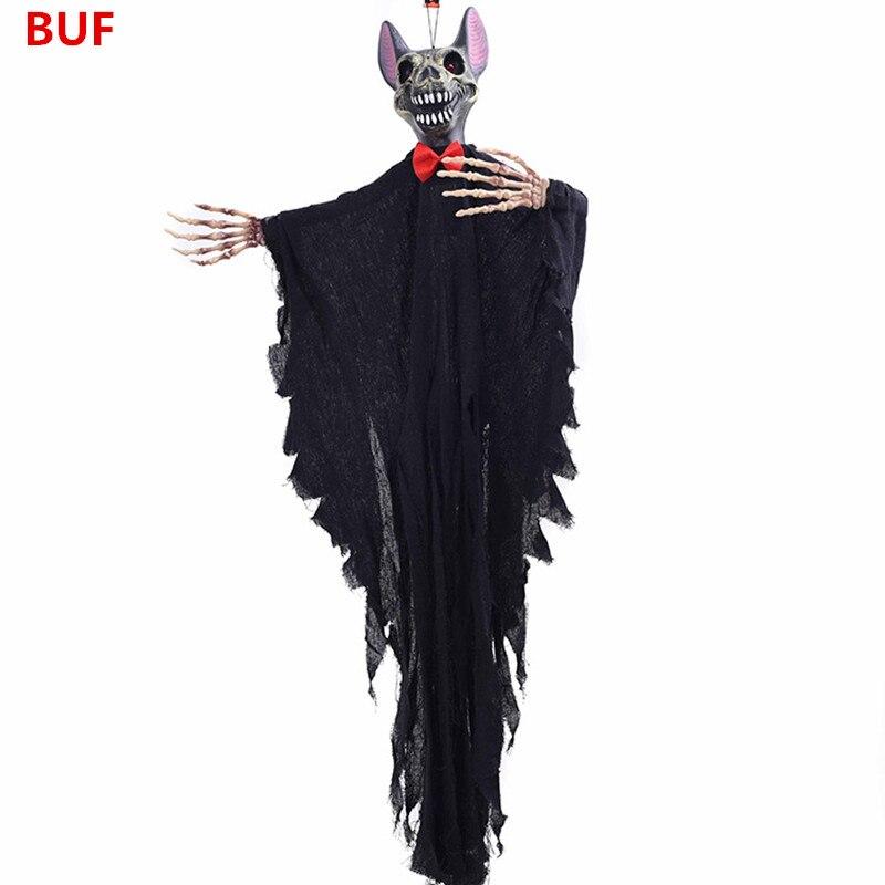 Halloween fête décoration suspendus fantôme créatif Halloween hurlant terreur chauves-souris suspendus décoration