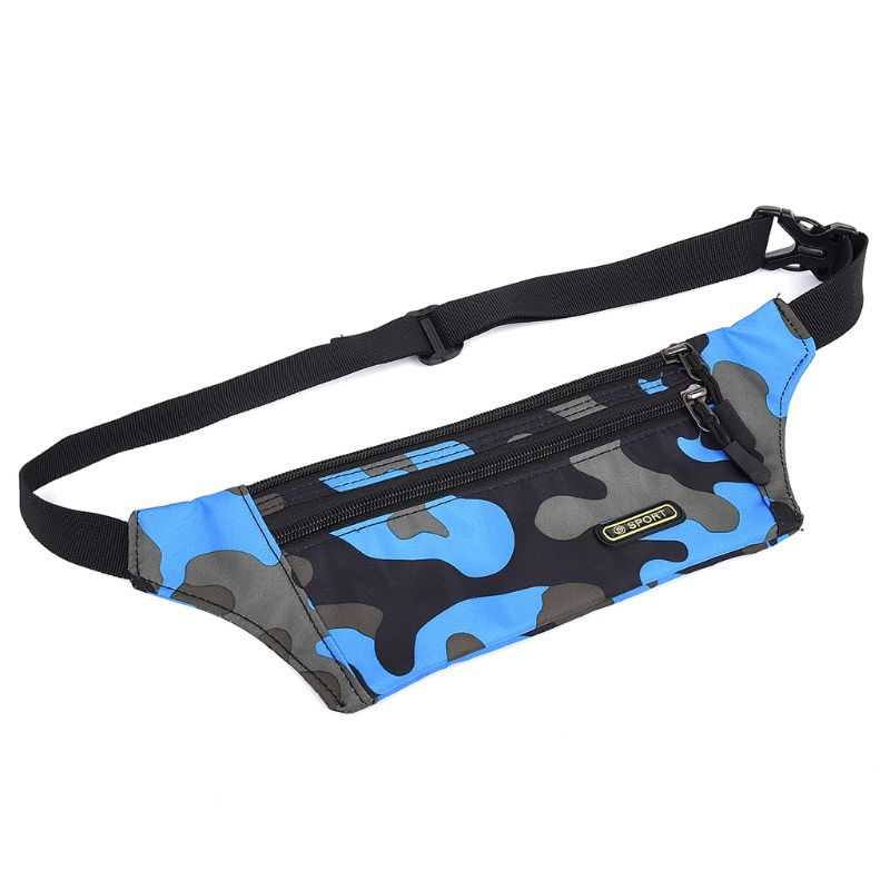 Boys Girls Kids Camouflage Fanny Pack Travel Bum Bag Money Waist Belt Walking Holiday Pouch Ladies Casual Waterproof Chest Pack