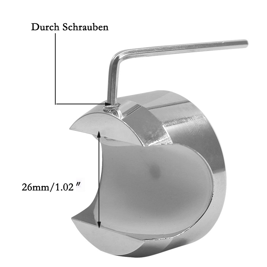 2PCS/Set Universal Waterproof 7/8 Motorcycle Handlebar Black Dial Clock Watch Temp Thermometer For YAMAHA Harley Free Shipping 24
