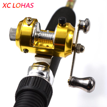1x Golden Alloy Drum Baitcasting Saltwater Fishing Reel Right Hand Line Winder for Pen Size and Normal Fishing Rod Cheap Price