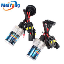 10pcs H11 HID Xenon Pure White Replacement Car 6000K 35W Headlight Headlamp Bulb Lamp parking Car Light Source цены