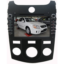For KIA CERATO fORTE manual 2008 2009 2010 car dvd player MTKAC8227 Quad-Core android 5.1 RADIO gps wifi map camera 1024*600lcd