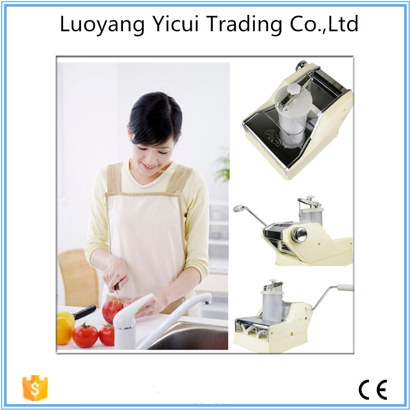 Supply best quality manual household dumpling machine high quality household manual hand dumpling maker mini press dough jiaozi momo making machine
