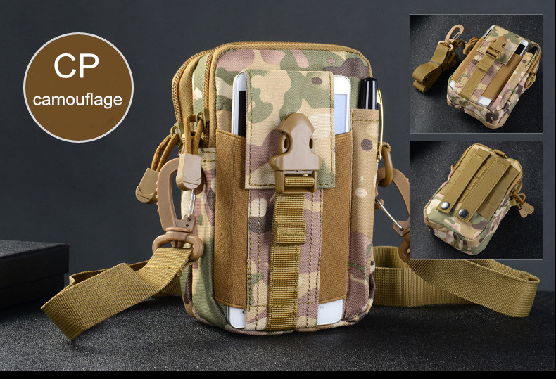 Multifunctional Camping Waist Pack Climbing Emergency Molle Survival Kits Outdoor Tactical Bag Wallet Pouch Outdoor Sport Pack (12)